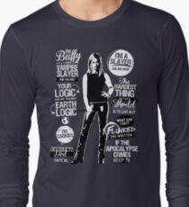 Quotes of a Slayer  Long Sleeve T-Shirt