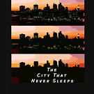 The city that never sleeps by Kenneth Vanegas