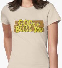 "Christian ""God Bless You"" T-Shirt Womens Fitted T-Shirt"