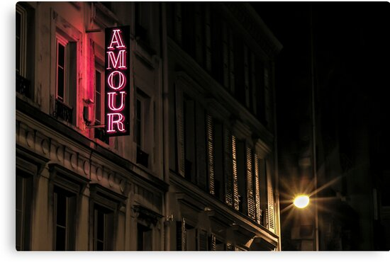 Amour sur la rue de Navarin by Patrick T. Power