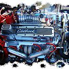 Edelbrock Motor by Gail Jones
