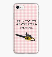 Heathers - chainsaw iPhone Case/Skin