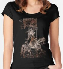Knight in Shining Armor Women's Fitted Scoop T-Shirt
