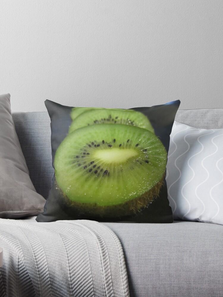 A Slice of Kiwi Fruit by v-something
