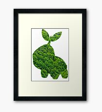 Turtwig used Synthesis Framed Print