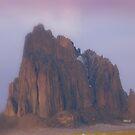 Ship Rock in Mist by Shiva77