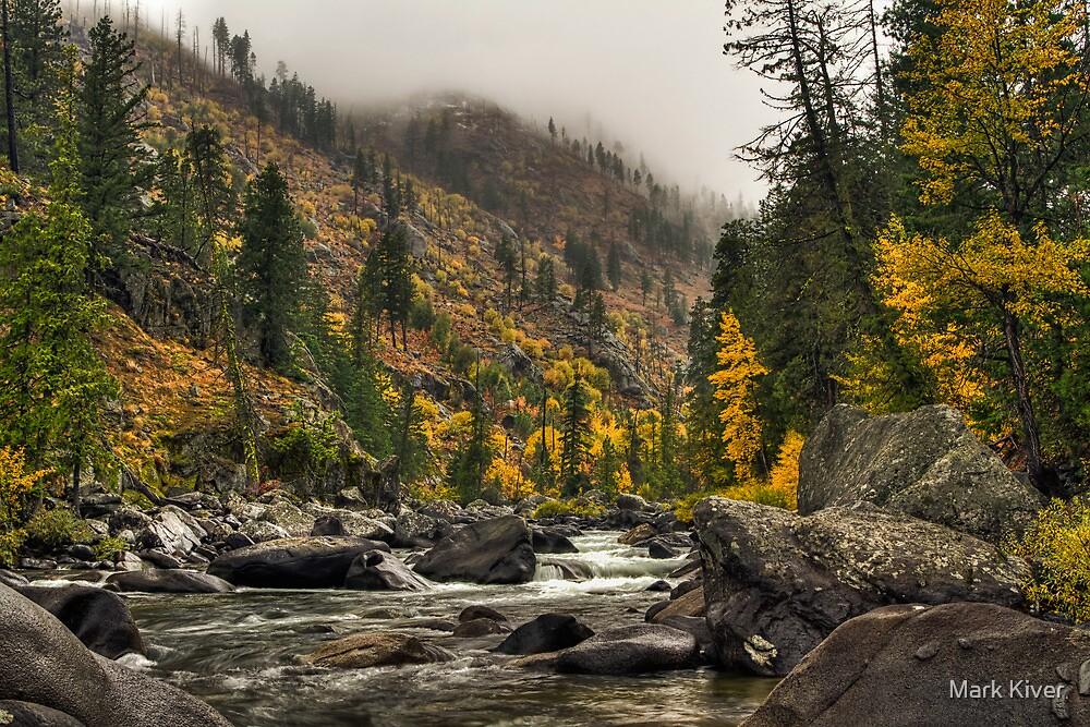 Icicle Creek Hues - Leavenworth by Mark Kiver