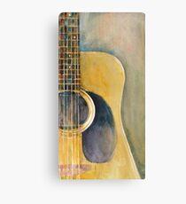 Martin Acoustic Guitar 2012 Canvas Print