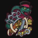 Snakes and Razors by SmittyArt