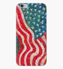 """Glory"" Contemporary, Patriotic Art Painting iPhone Case"