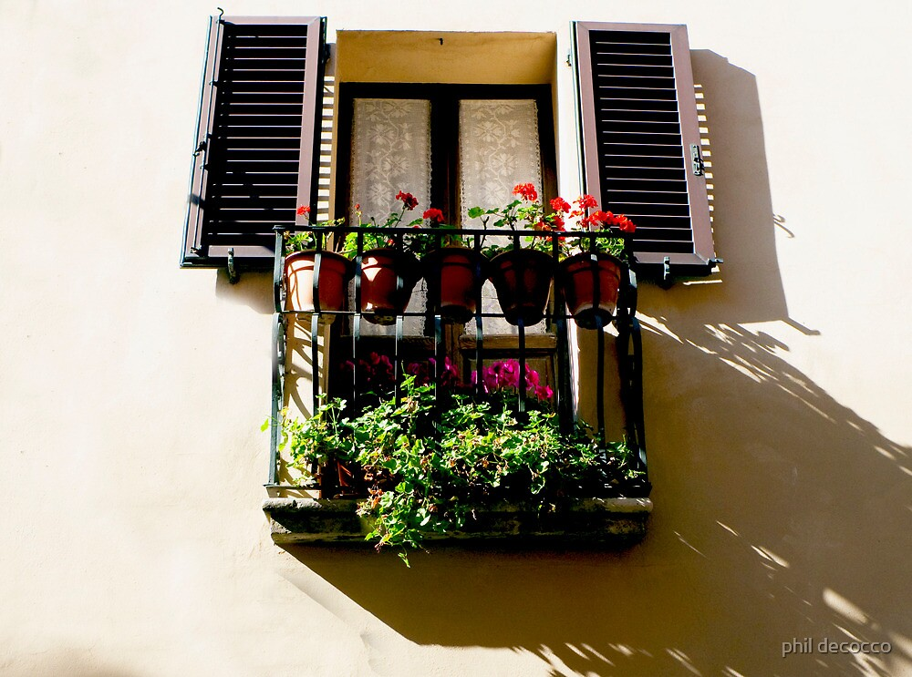 Step Out Balcony by phil decocco
