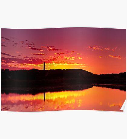 Painkalac Sunrise Poster