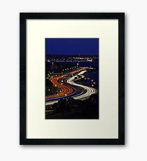 Kwinana Freeway - Western Australia  Framed Print
