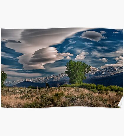 Owens Valley Lenticular Poster