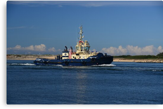 SVITZER TUG MAITLAND, NEWCASTLE PORT by Phil Woodman