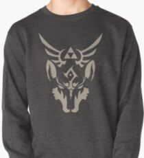 Wolf Link Blue Eyed Beast Pullover