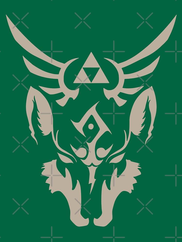 Wolf Link blauäugige Bestie von DnAMcCloud