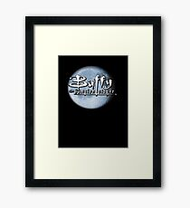 Buffy logo Framed Print