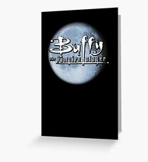Buffy logo Greeting Card