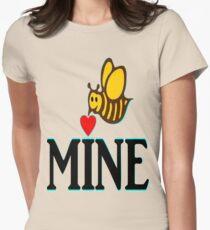 °•Ƹ̵̡Ӝ̵̨̄Ʒ♥Bee Mine-Cute HoneyBee Clothing & Stickers♥Ƹ̵̡Ӝ̵̨̄Ʒ•° Women's Fitted T-Shirt