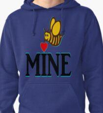 °•Ƹ̵̡Ӝ̵̨̄Ʒ♥Bee Mine-Cute HoneyBee Clothing & Stickers♥Ƹ̵̡Ӝ̵̨̄Ʒ•° Pullover Hoodie