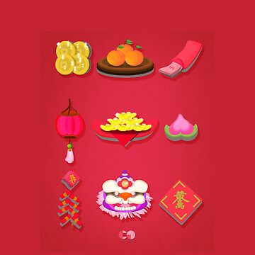 Chinese New Year Items :)  by centtaro