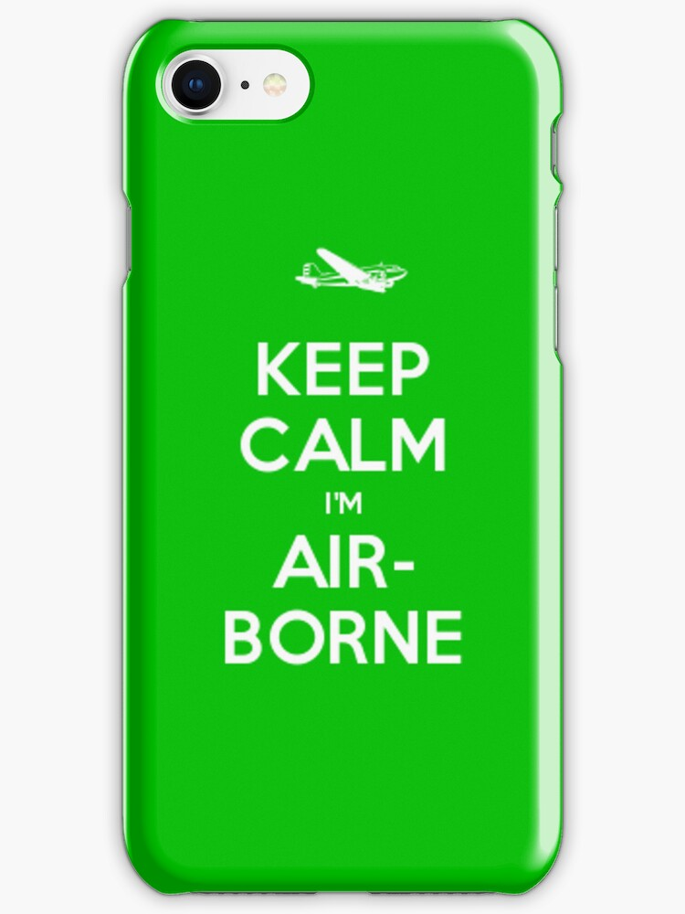 Keep Calm, I'm Airborne by zijing
