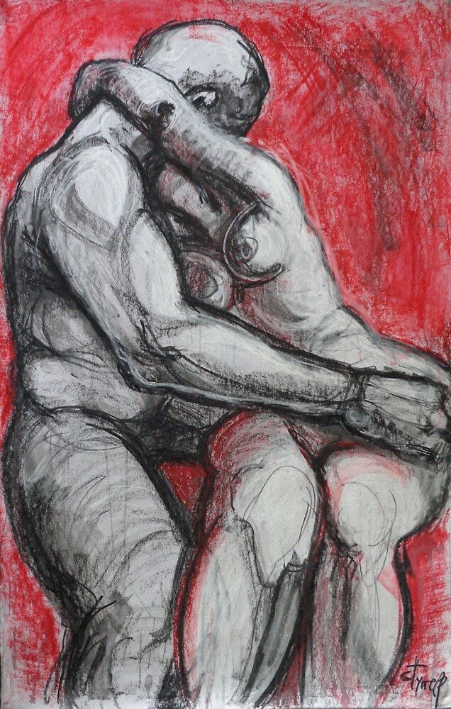 Lovers - Kiss 5 - Rodin by CarmenT