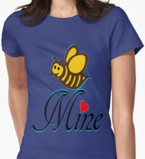°•Ƹ̵̡Ӝ̵̨̄Ʒ♥Bee Mine-Cute HoneyBee Clothing & Stickers♥Ƹ̵̡Ӝ̵̨̄Ʒ•° Women's Fitted T-Shirt
