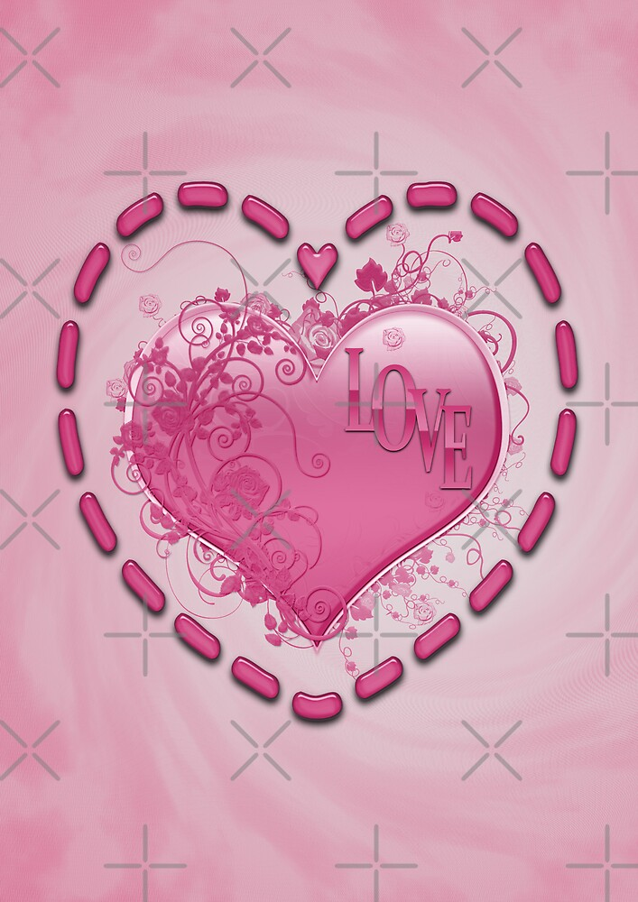 Love and Hearts by LoneAngel