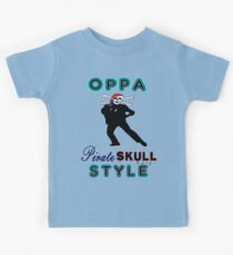 ★ټPirate Skull Style Hilarious Clothing & Stickersټ★ Kids Tee