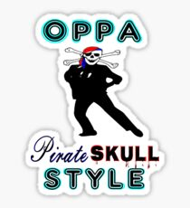 ★ټPirate Skull Style Hilarious Clothing & Stickersټ★ Sticker