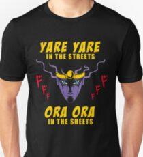 Camiseta unisex Yare Yare en las calles