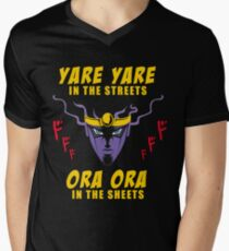 Yare Yare in the streets Men's V-Neck T-Shirt