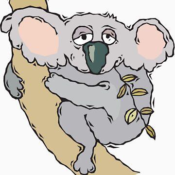 Koala Bear by FunnyT-Shirts