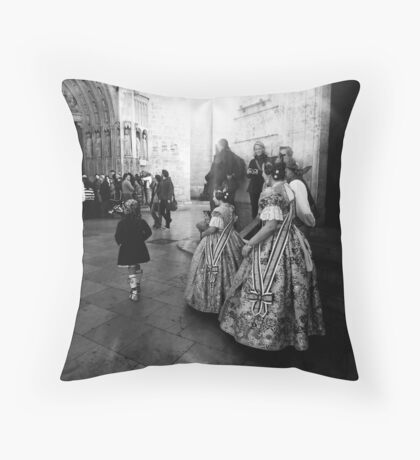 Rehearsing Tradition .. Throw Pillow
