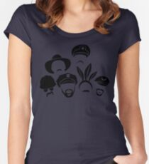 Defending Awesome - Village Stash Women's Fitted Scoop T-Shirt