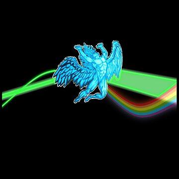 Dark Side Of The Zeppelin by mannart