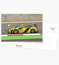 Ferrari F458 GT2 No 66 Postcards