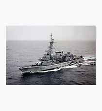 Old French Navy Destroyer Photographic Print