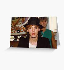Nick Rhodes / Duran Duran Greeting Card