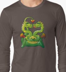 Dragons Madly in Love Long Sleeve T-Shirt