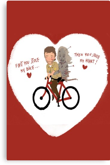 the walking heart/bike by daniloschirru
