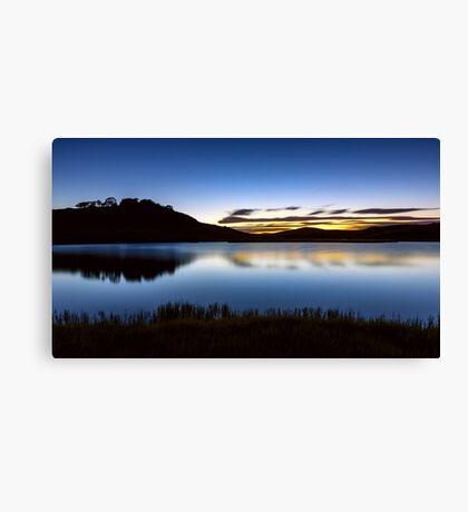 Sunrise - Pretty Valley Pondage Canvas Print