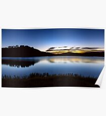 Sunrise - Pretty Valley Pondage Poster