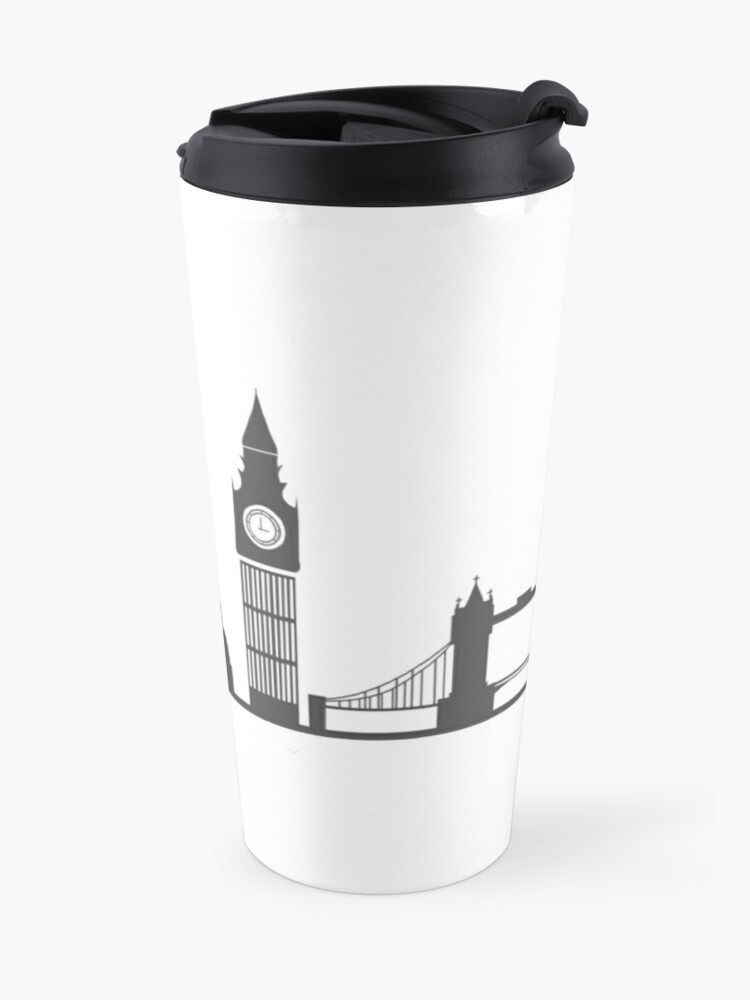 Alternate view of London Cityscape Travel Mug