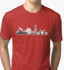 London Cityscape Tri-blend T-Shirt