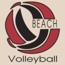 Beach Volleyball by SportsT-Shirts