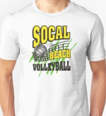 Southern California Beach Volleyball Unisex T-Shirt