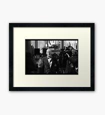 Mr Willis Framed Print